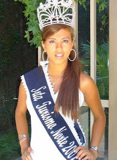 Johanna Nakano is Miss Chiclayo Peru 2008