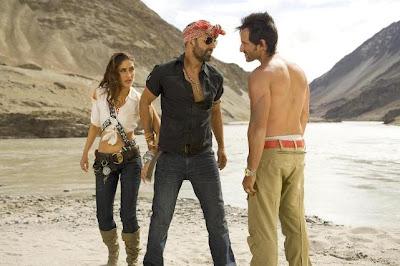 Saif Ali Khan, Kareena Kapoor & Akshay Kumar in Tashan Movie