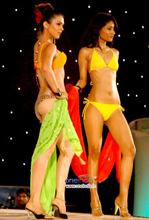 Gladrags Megamodel Manhunt 2008 Contestants Bikini Photos