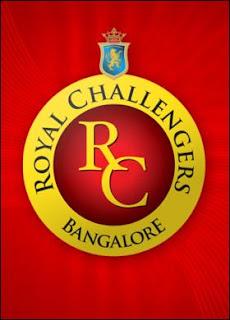 IPL's Bangalore Royal Challengers Logo