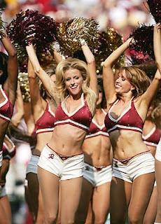 IPL Royal Challengers's Cheerleaders - Washington Redskins