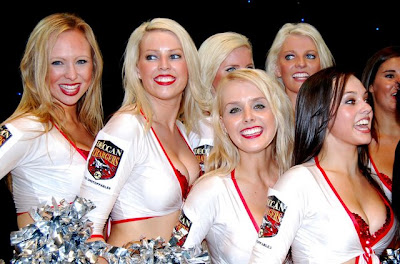 Deccan Chargers Cheerleaders Photo