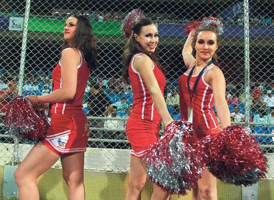 Rajasthan Royals Cheerleaders Photo