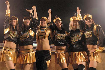 Kolkata Knight Riders Cheerleaders Picture