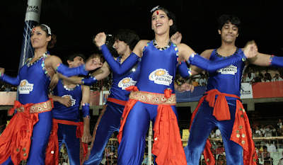 Mumbai Indians Cheerleaders Photo