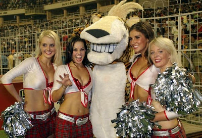 Deccan Chargers Hyderabad Cheerleaders Wallpaper