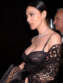 Monica Bellucci Bikini Wardrobe Malfunction Picture
