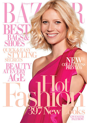 Gwyneth Paltrow on Harper's Bazaar July 2008 Cover