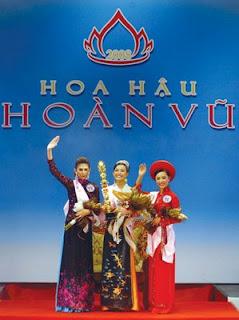 Miss Vietnam 2008 Winners