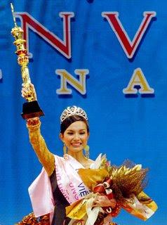 Nguyen Thuy Lam - Miss Vietnam 2008 Winner