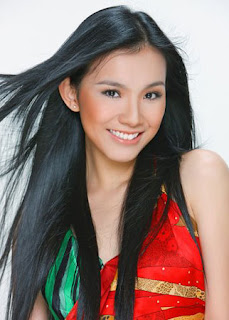 Nguyen Thuy Lam is Miss Universe Vietnam 2008