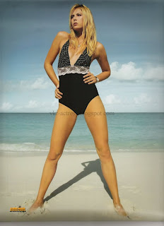 Maria Sharapova Swimsuit Calendar