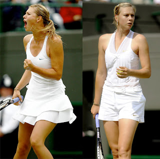 Sharapova Shorts vs Skirt - New Wimbledon Look