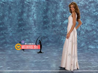 Dayana Mendoza - Miss Universe Venezuela 2008 Wallpaper