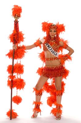 Dayana Mendoza - Miss Universe Venezuela in National Costume