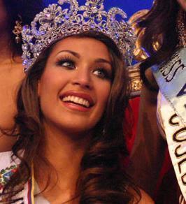 Dayana Mendoza is Miss Universe Venezuela 2008