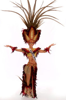 Miss Universe Puerto Rico 2008 in National Costume