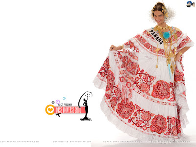 Miss Panama 2008 in National Costume