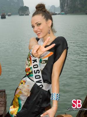 Miss Universe Kosovo 2008 Wallpaper