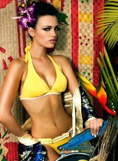 Miss Kosovo 2008 in Bikini