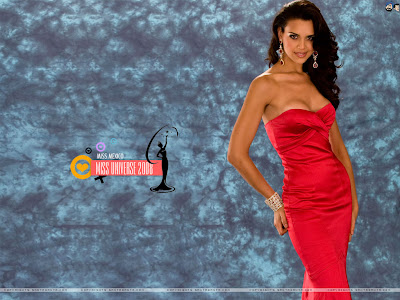 Elisa Najera - Miss Universe Mexico 2008 Wallpaper