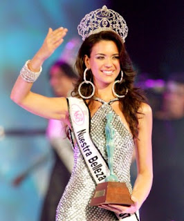 Elisa Najera is Miss Universe Mexico 2008
