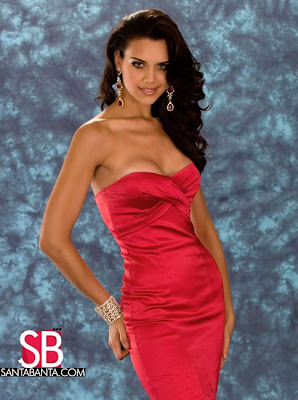 Miss Universe Mexico 2008 Evening Gown