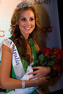 Laura Dundovic is Miss Universe Australia 2008