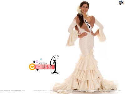 Miss Universe Spain 2008 Wallpaper