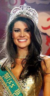 Natalia Anderle is Miss Universe Brazil 2008