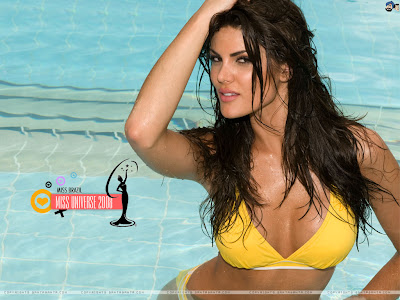 Miss Universe Brazil 2008 Wallpaper