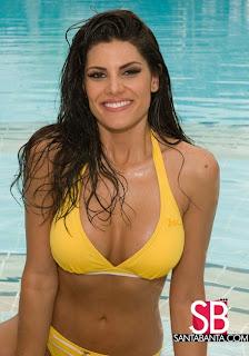 Natalia Anderle - Miss Universe Brazil 2008 Bikini