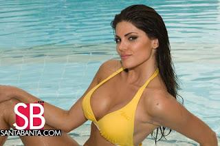 Natalia Anderle - Miss Brazil 2008 Swimsuit