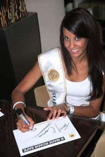 Tansey Coetzee is Miss Universe South Africa 2008