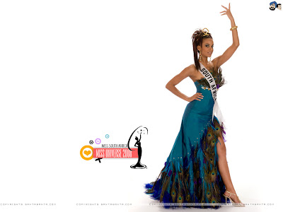 Miss South Africa Universe 2008 Wallpaper