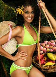 Tansey Coetzee Bikini Picture