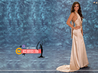 Miss Universe Norway 2008 Wallpaper
