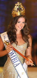 Taliana Vargas is Miss Universe Colombia 2008