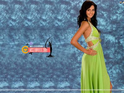 Miss Czech Republic 2008 Wallpaper