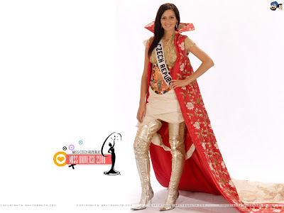 Miss Universe Czech Republic 2008 Wallpaper