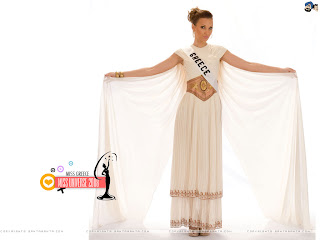 Miss Greece 2008 Wallpaper