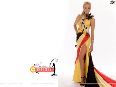 Miss Universe Belgium 2008 Wallpaper