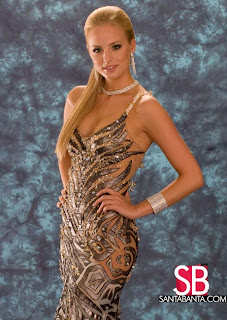 Alizee Poulicek is Miss Universe Belgium 2008