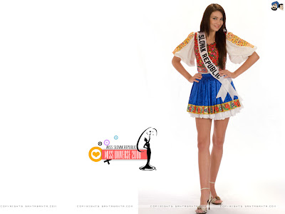 Sandra Manakova - Miss Slovak Republic Universe 2008 Wallpaper