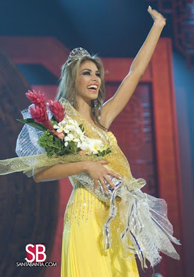 Dayana Mendoza is Miss Universe 2008