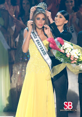 Dayana Mendoza - Miss Universe 2008 Crowning Picture