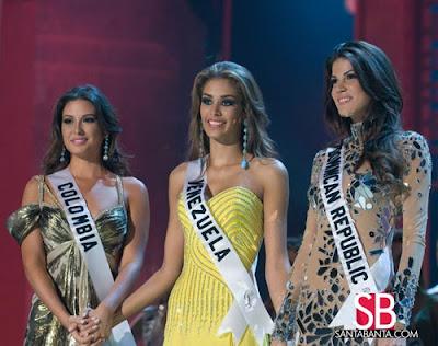 Miss Universe 2008 Winner, Dayana Mendoza and Runners up