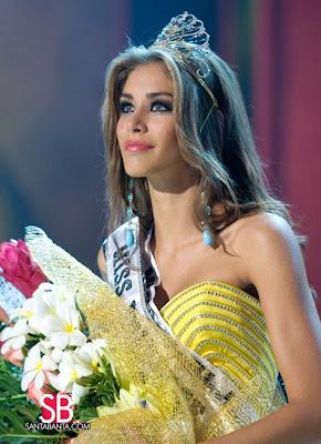 Miss Venezuela 2007 is Miss Universe 2008 Winner
