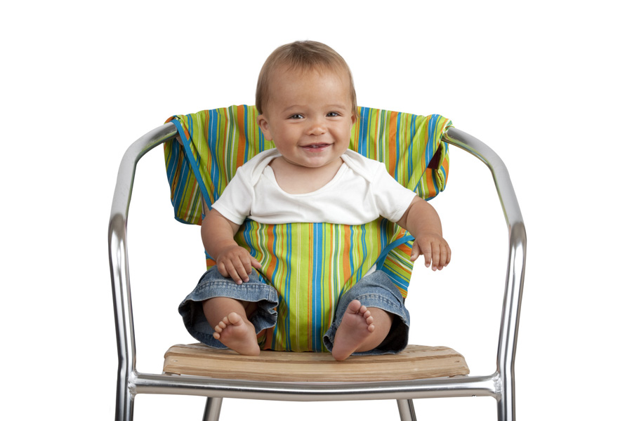 f4b17f60f498f Teenie Weenies  Tot Seat - the portable baby highchair
