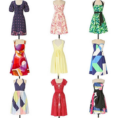 The Fashion Bomb: Pop on a Frock: Spotlight on Anthropologie